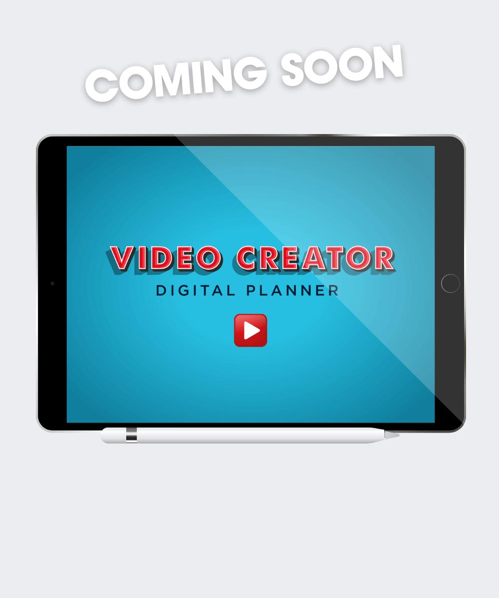 Video Creator Digital Planner